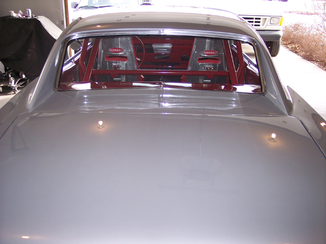 1966 Chevrolet Chevelle installed customers own windshield and back glass.