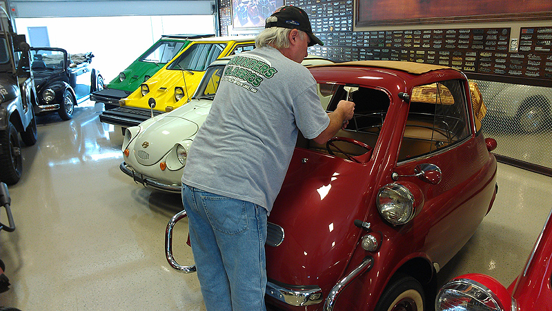 Prepping for Gasket for BMW Isetta