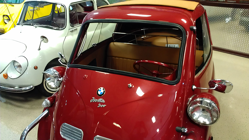 Rubber Gasket in Place for BMW Isetta
