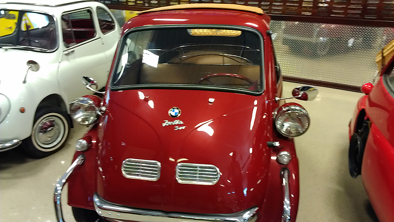 Classic BMW Isetta 300 Windshield Replacement