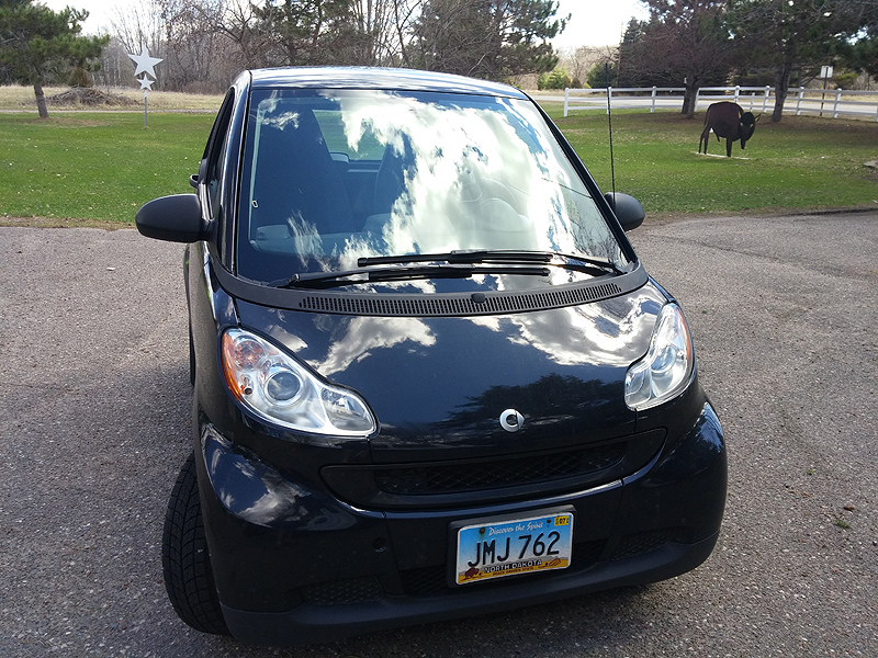 Smart Car Windshield Replaced