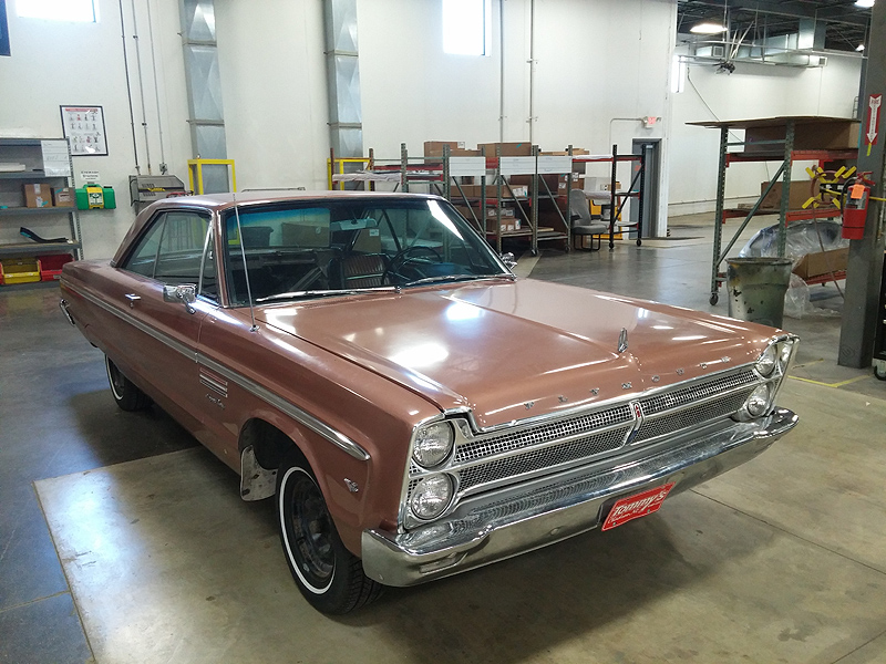 1963 Plymouth Fury Windshields & Back Glass